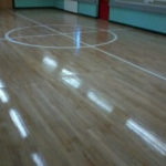 Gym Floor Finished